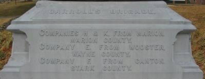 Right Base of Monument image. Click for full size.