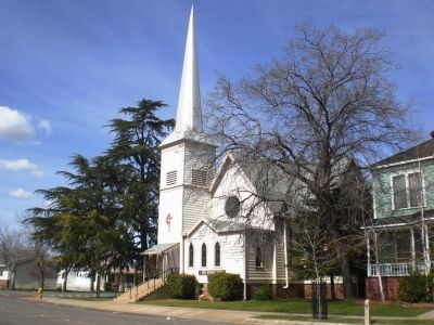 McTyeire Memorial Church in Lincoln (Constructed 1890-91) image. Click for full size.