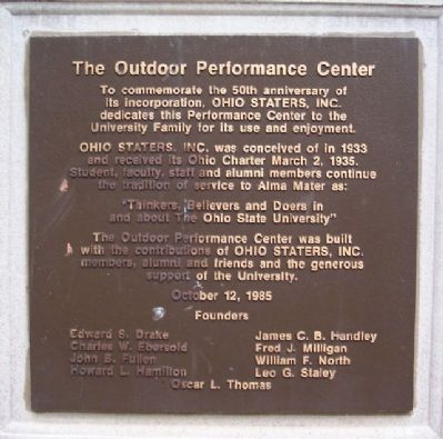The Outdoor Performance Center Marker image. Click for full size.