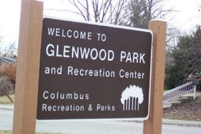 Glenwood Park and Recreation Center Marker image. Click for full size.