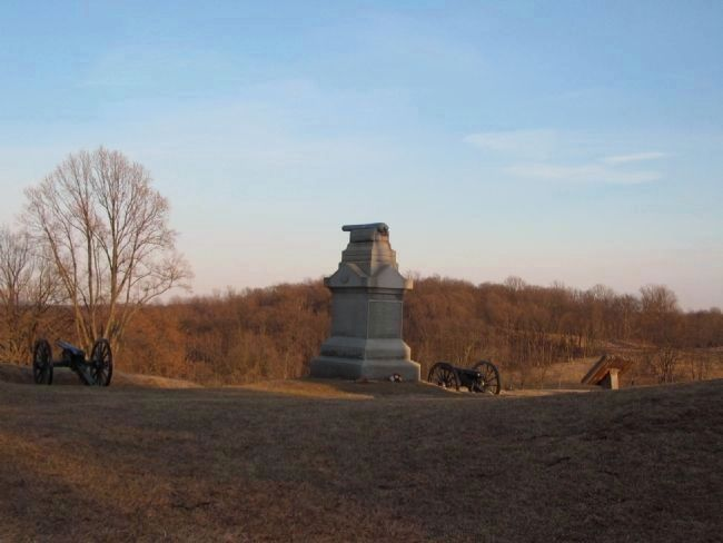 Battery B, First Pennsylvania Light Artillery Monument image. Click for full size.