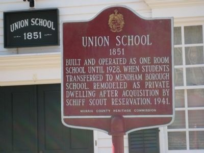 Union School Marker Photo, Click for full size