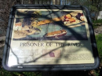 Prisoner of the River Marker image. Click for full size.