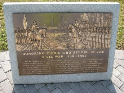 Civil War Marker Photo, Click for full size