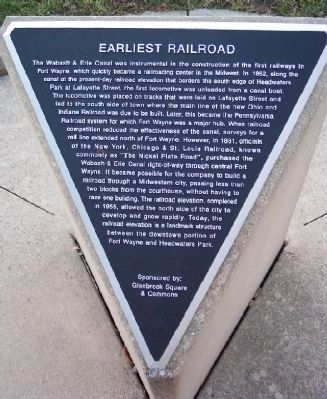 Earliest Railroad