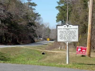 Northbound View of Marker Photo, Click for full size
