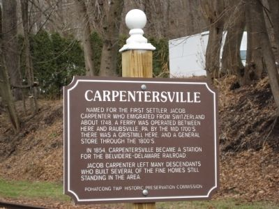 Carpentersville Marker image. Click for full size.