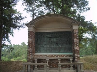 Marker in Historic Jamestown Photo, Click for full size