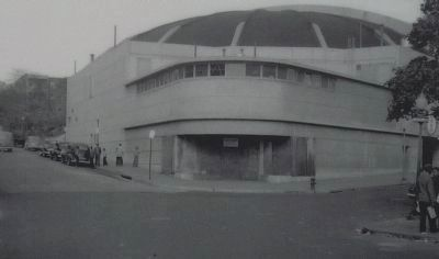 """National (later Citadel) Arena roller rink, 1949"" Photo, Click for full size"