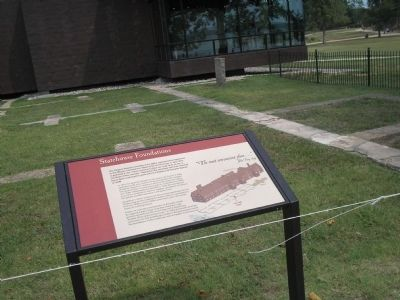 Marker in Historic Jamestown image. Click for full size.