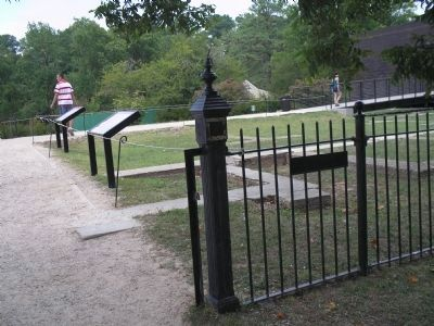 Markers at Jamestown image. Click for full size.