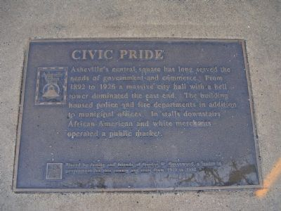 Civic Pride Marker image. Click for full size.