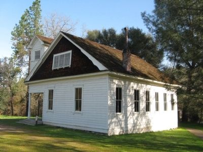 Coloma Schoolhouse image. Click for full size.