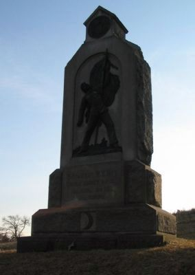 54th New York Infantry Monument image. Click for full size.