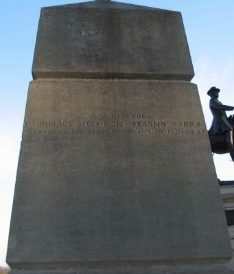 Right Side of Monument Photo, Click for full size