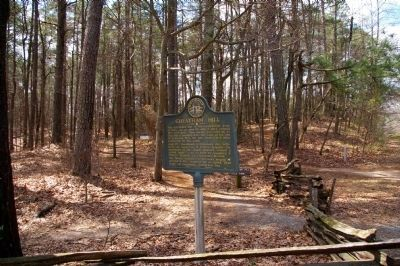 Cheatham Hill Marker image. Click for full size.