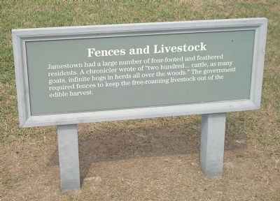Fences and Livestock Marker image. Click for full size.