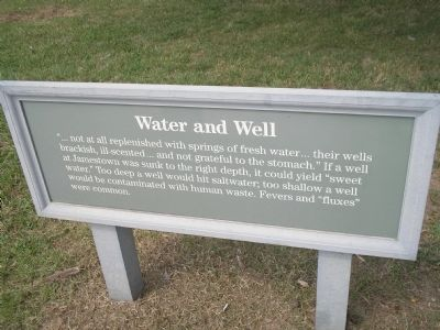 Water and Well Marker image. Click for full size.