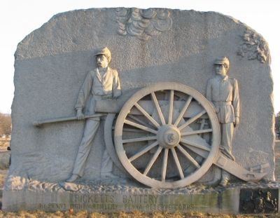 Ricketts' Battery Monument image. Click for full size.