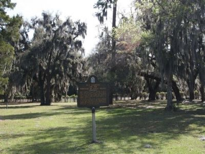 M.E. Thompson and the Purchase of Jekyll Island Marker image. Click for full size.