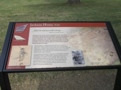 Jackson Home Marker Photo, Click for full size