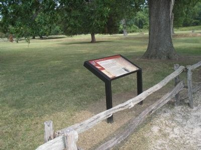 Marker at Historic Jamestowne Photo, Click for full size