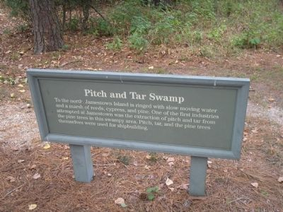 Pitch and Tar Swamp	 Marker Photo, Click for full size