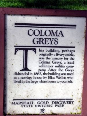 Coloma Greys Marker image. Click for full size.