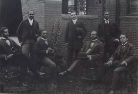 """Howard University Sets the Standard"" Marker - photo on reverse image. Click for full size."
