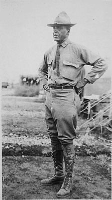 Maj. Charles Young, Mexico, 1916 image. Click for full size.