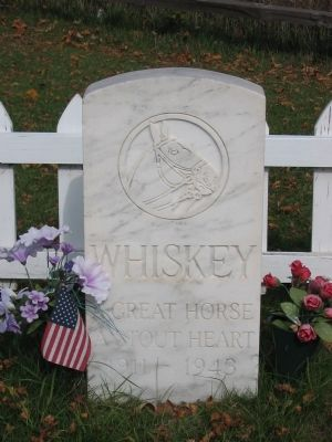 Whiskey Marker Photo, Click for full size