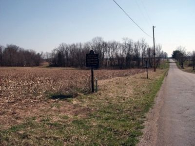 "Looking South - Wide View:: Boyhood home of J. G. ""Uncle Joe"" Cannon. Marker image. Click for full size."