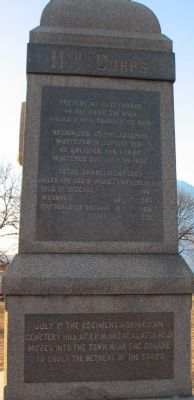 Left Side of Monument Photo, Click for full size