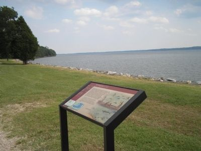 Marker at Historic Jamestowne image. Click for full size.