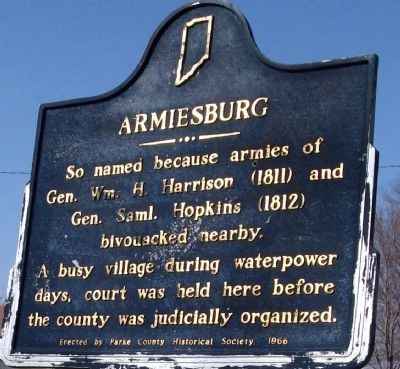 Armiesburg Marker Photo, Click for full size
