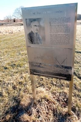 Karl Jansky Radio Astronomy Monument Marker Photo, Click for full size