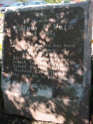 Rodney J. Putz Marker Photo, Click for full size