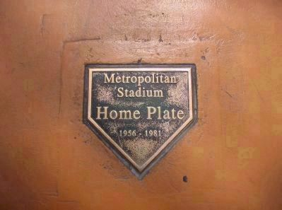 Home Plate in Mall Photo, Click for full size