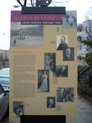 Lanier Place Marker Photo, Click for full size