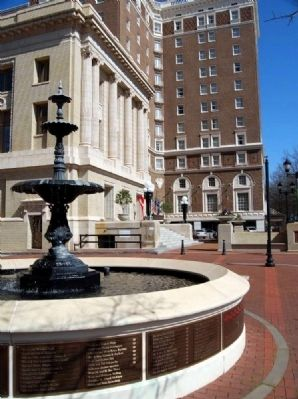 Poinsett Society Fountain Photo, Click for full size