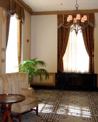Interior Poinsett Hotel<br>Seating Area Photo, Click for full size