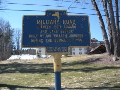 Military Road Marker Photo, Click for full size