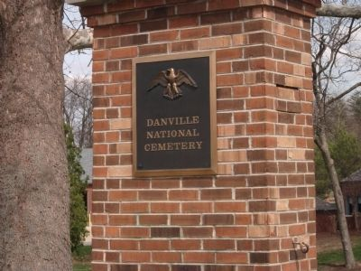 "Entry to:: ""Danville National Cemetery"" image. Click for full size."
