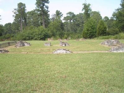 Jamestown Household Site Photo, Click for full size