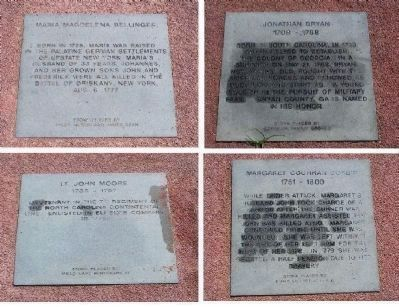 Some of the Memorial stones image. Click for full size.