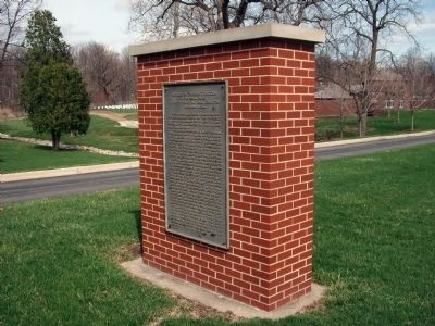 Right Front - - Address by President Lincoln Marker image. Click for full size.