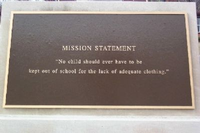 The Charity Newsies Mission Statement image. Click for full size.