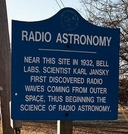 Radio Astronomy Marker image. Click for full size.