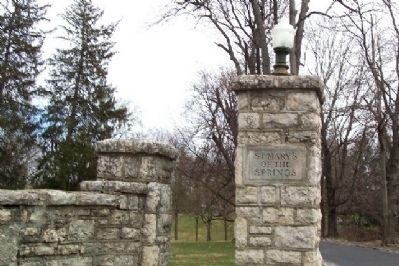 Former Saint Mary of the Springs Academy Entrance Photo, Click for full size