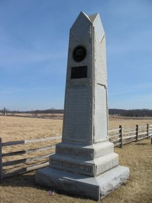105th Pennsylvania Infantry Monument Photo, Click for full size